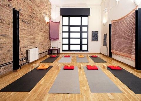 Nuestra pequeña sala de Yoga